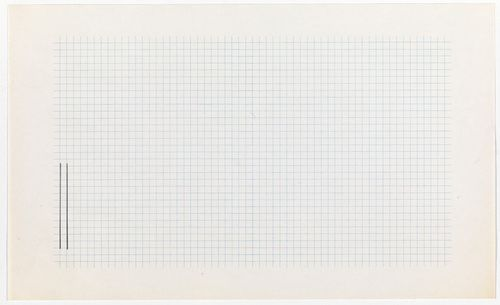 Peter Downsbrough. Untitled. 1973–74