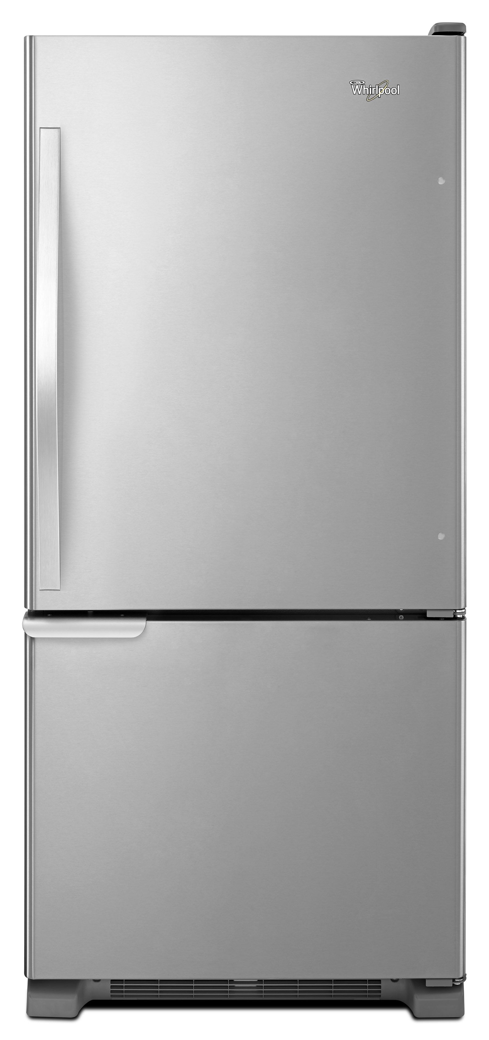 Single Door Bottom Freezer Refrigerator W/ Adaptive Defrost   Efficient And  Stylish