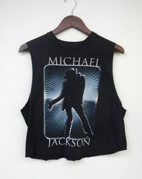 87724e5afd6 SALE Vintage Michael Jackson Destroyed Faded by PinkCheetahVintage, $24.49