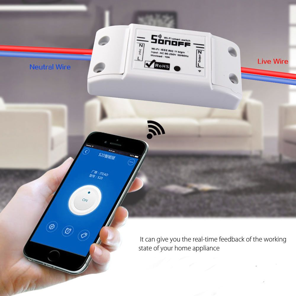 Smart Home Wifi Remote Timing Switch Sale Price Reviews