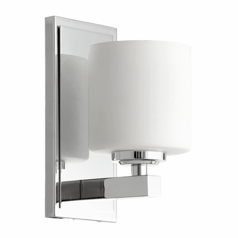 Photo of Quorum International 5669-1-14 Chrome Single Light 4-3/4″ Wide Bathroom Sconce