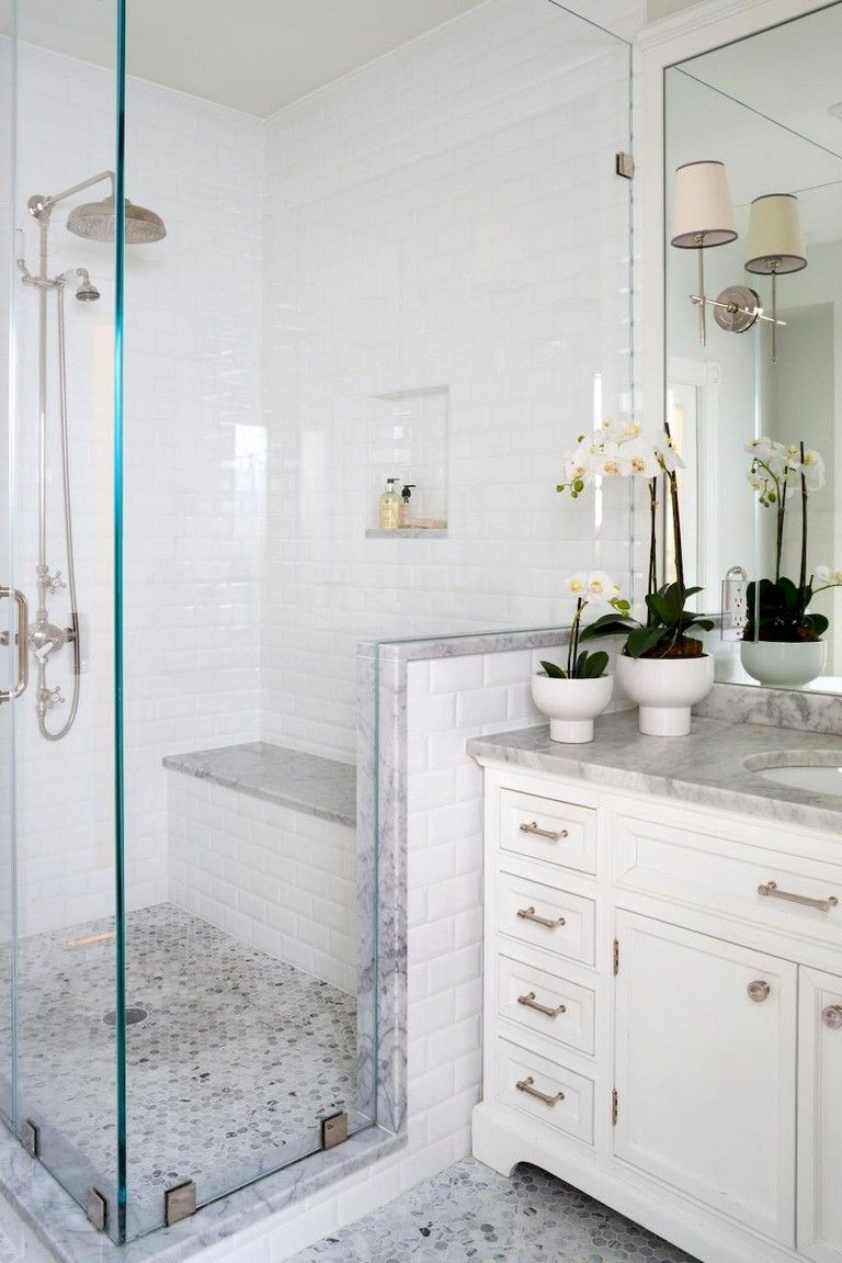 37 Lovely Bathroom Shower Tile Design Ideas And Makeover