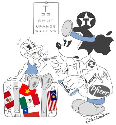 Wikileaks  Updated Secret TransPacific Partnership Agreement