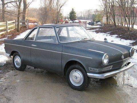 Unrestored 40hp Driver 1960 BMW 700S Coupe Bmw, Coupe