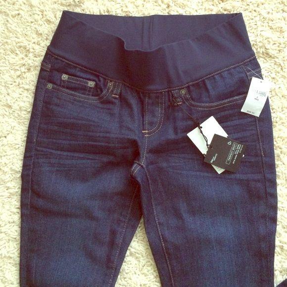 Gap maternity jeans! NWT   Azul, Pantalones vaqueros de maternidad ...