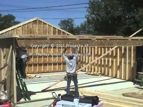 Construir / hacer una cubierta / tejado / estructura de madera ...