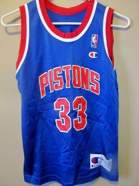 87fdf323b Vintage Grant Hill Detroit Pistons jersey