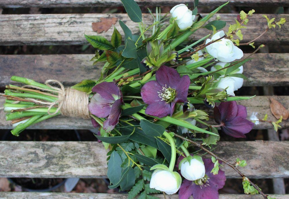 Lock Cottage spring bouquet 100% British grown material http://lockcottageflowers.wix.com/lockcottageflowers