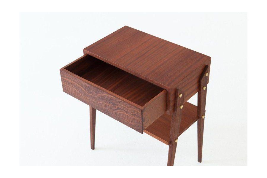 Best Pair Of Italian Mahogany Wood Bedside Tables 1950S 640 x 480