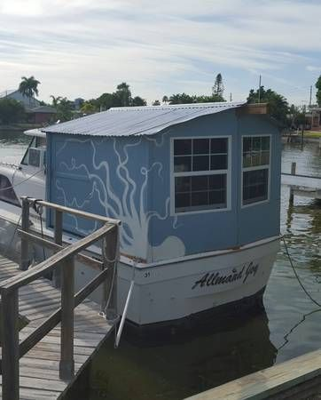 Houseboat for sale on Craigslist | Build A Houseboat