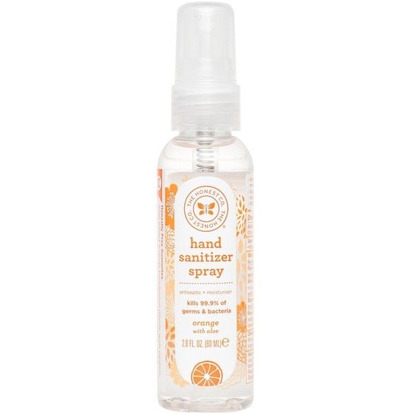 The Honest Company Hand Sanitizer Spray Liked On Polyvore