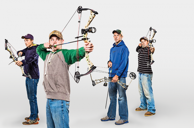 Pick the right #bow for a young #archer using this guide. #archery http://www.outdoorlife.com/blogs/wringer/youth-bow-test-best-hunting-bows-kids