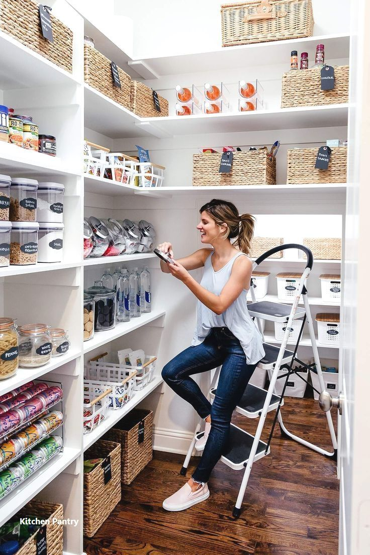 How To Add Functional Space To Your Kitchen Pantry: 15 Formidably Functional DIY Tips For Your Kitchen's