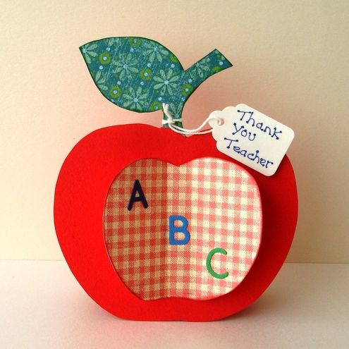 Crafts for teacher folksy buy thank you teacher for Thank you crafts for teachers