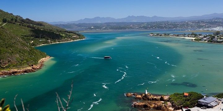 Knysna Lagoon, South Africa, Africa