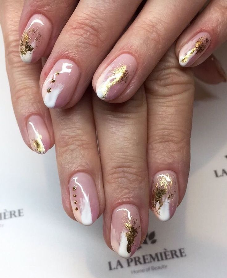 10 Elegant Rose Gold Nail Designs: Elegant Rose Gold Nails Designs To Try! In 2020