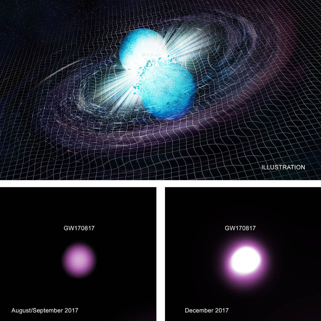 Gravitational Wave Event Likely Signaled Creation of a Black