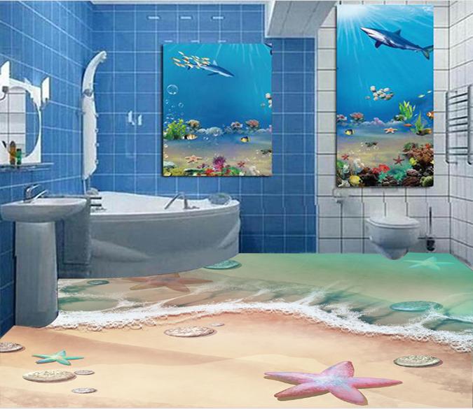 3d Beautiful Starfish 012 Floor Mural Floor Murals Floor Wallpaper 3d Floor Painting