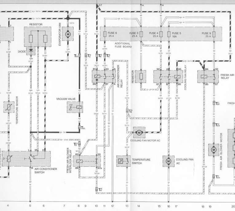 16 Ac Electric Fan Wiring Diagram Wiring Diagram Wiringg Net Porsche 944 Porsche Diagram