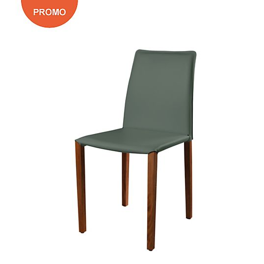 Lot de 2 chaises Olivia Woody Noyer tables salle à manger Pinterest