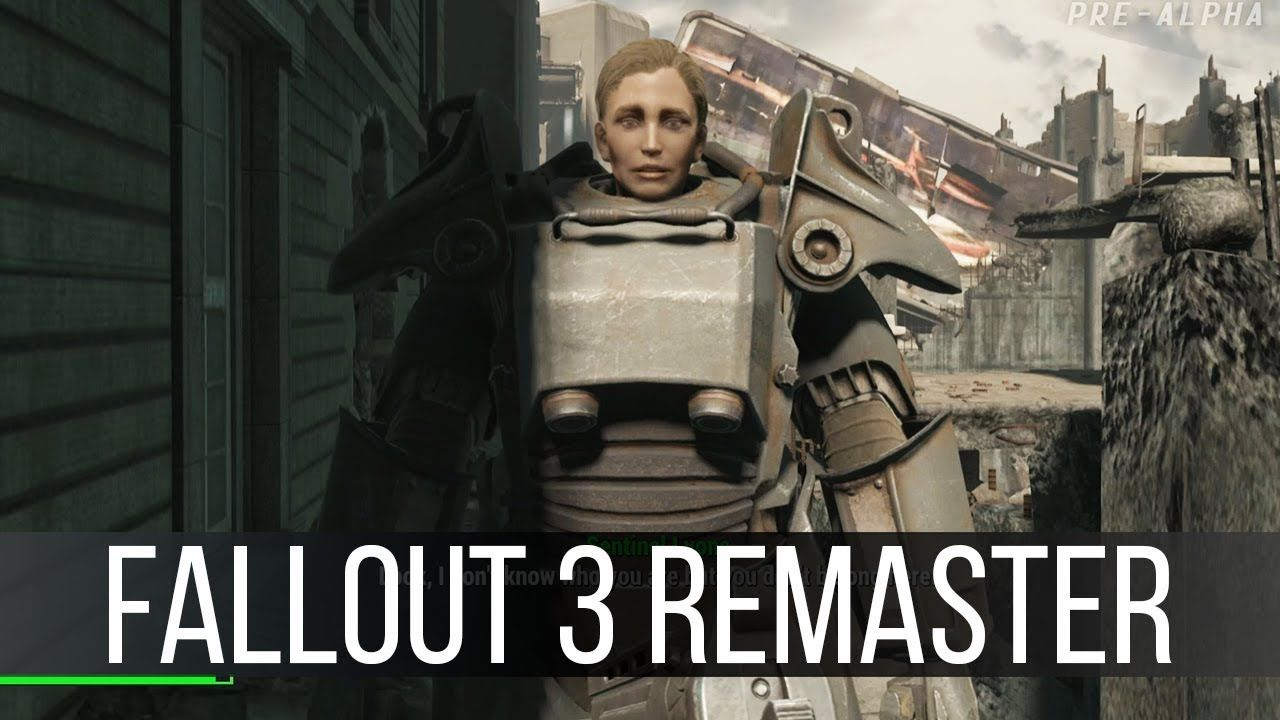Some Actual Gameplay of the Fallout 3 Remake | Games