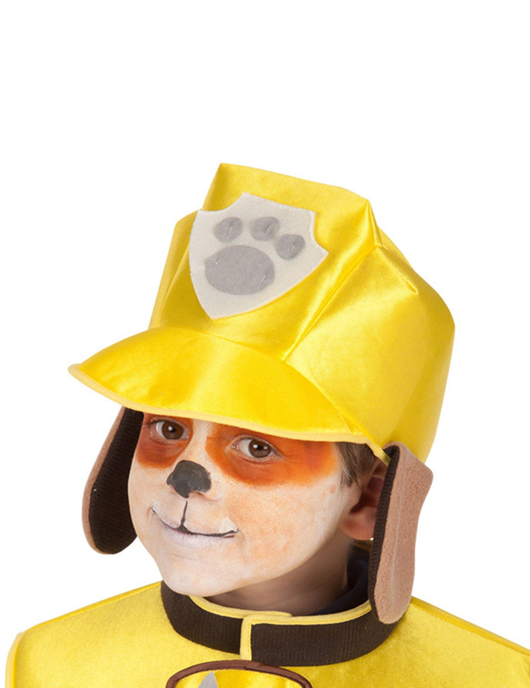 Paw Patrol Rubble Mutze Fur Kinder Lizenzware Gelb Gunstige