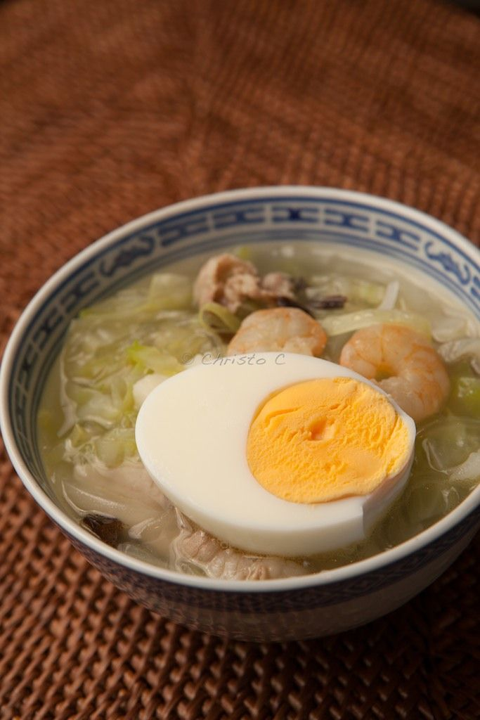 Cellophane Noodles Seafood Soup, Local Food in Kumamoto, Japan|Taipien 太平燕