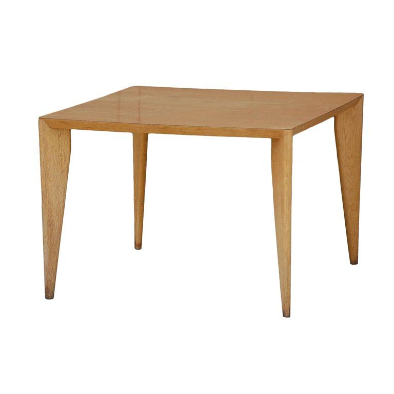 Bleached wood modernist coffee  side table  Modern Coffee and