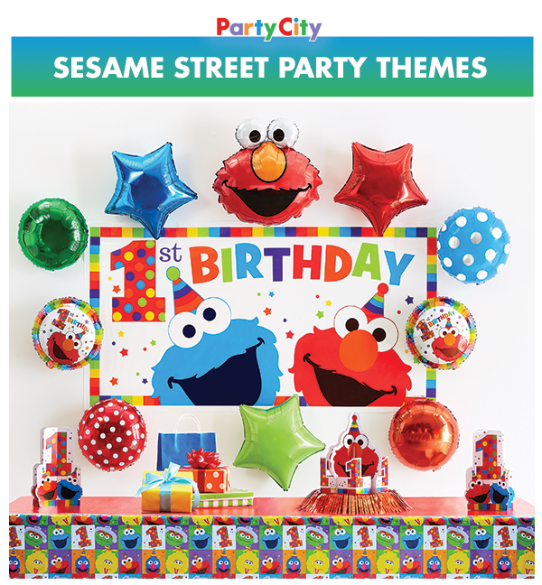 Party City Can Tell You How To Get To Sesame Street Throw