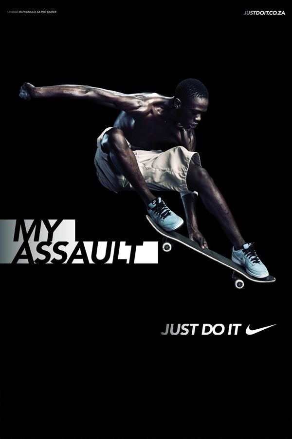 The Incredible Print Advertisement Of Nike Sports Advertising Nike Poster Nike Ad