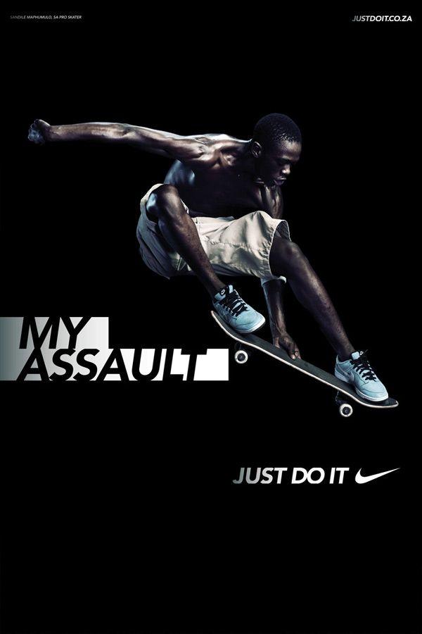 Skateboard Print Ad