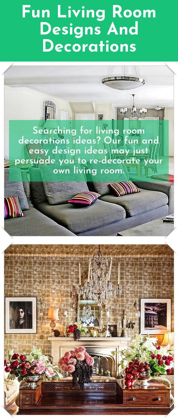 Great living room designs and decorations All set to get started