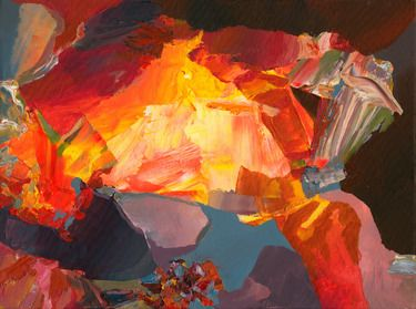 """Saatchi Online Artist Pavel Feyerabend; Painting, """"Abstract Painting"""" #art"""