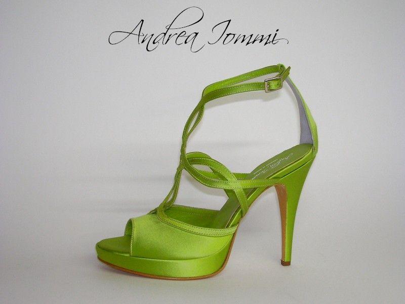 Scarpe Verdi Sposa.Pin Su Scarpe Da Sposa Colorate