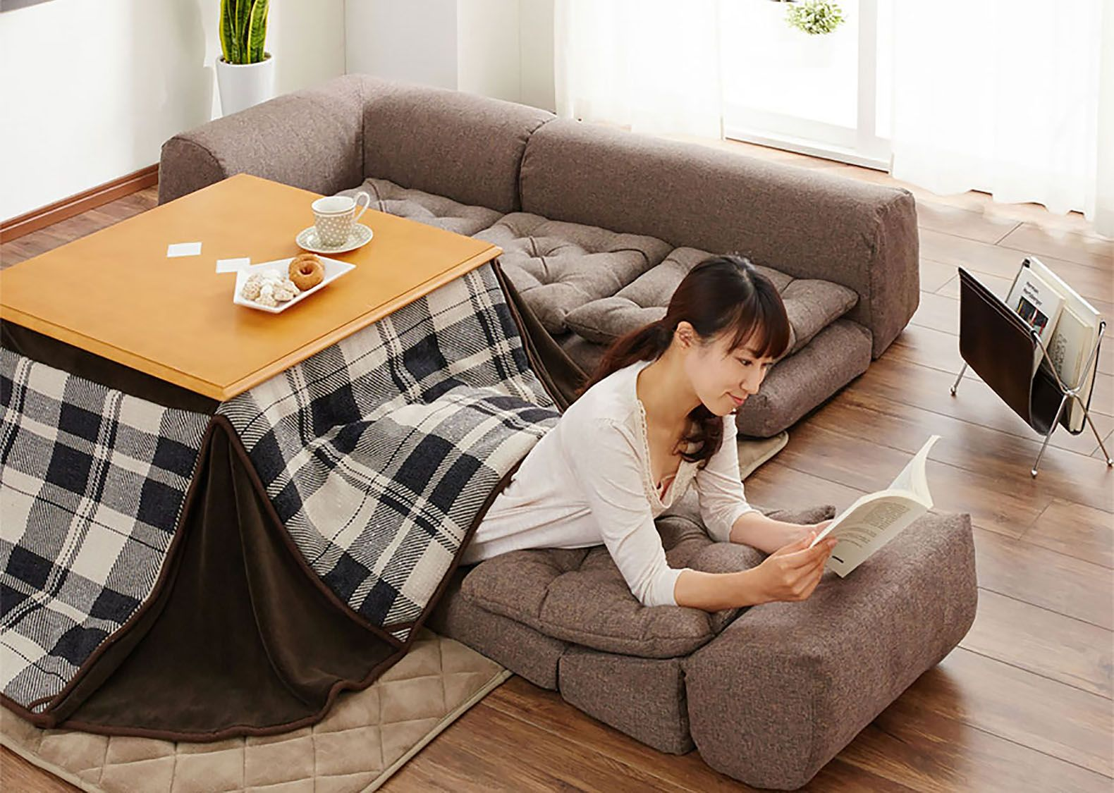 Slay Winter With A Heated Kotatsu Table Bed From Japan Japanese