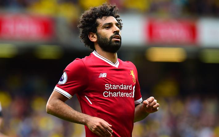 Download Wallpapers Mohamed Salah, Egyptian Footballer, 4k