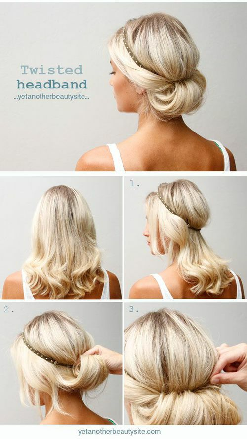Quick And Easy Hairstyles For Medium Hair This Hair  Where Have You Been All My Life  Saker Att Ha På Sig