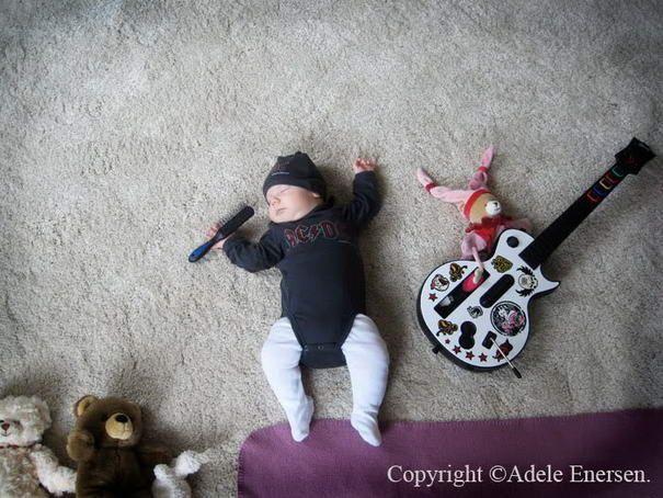 10 Most Creative Sleeping Baby Photos By Adele Enersen