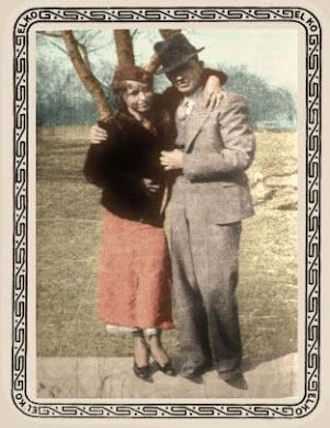 Bonnie And Clyde In Color American History Pinterest Bonnie