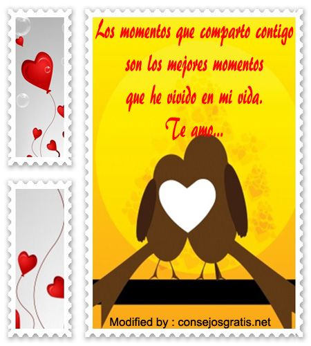 Mensajes para mi amor Postal para Enviar Nº19425