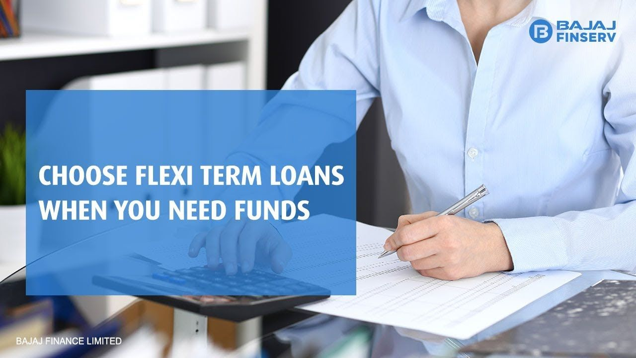 Flexi Loans Give You Flexibility To Withdraw Funds When Required And That S Not All You Only Pay Interest As Emis For The Initial Tenure Term Loan Loan Flexi