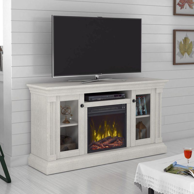 Highland Dunes Annmarie Tv Stand For Tvs Up To 60 With Electric