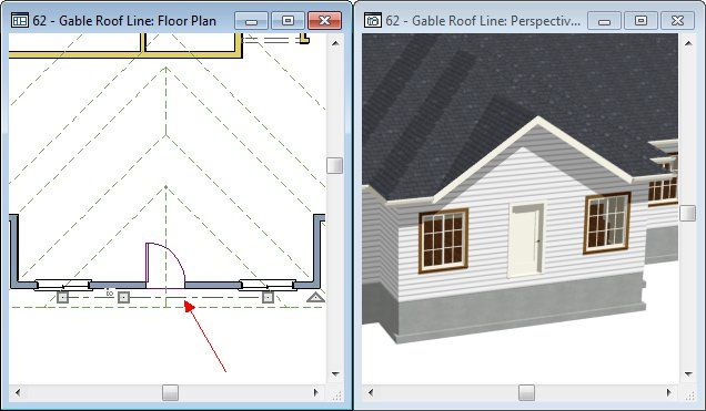 How To Use The Gable Roof Line Tool Chief Architect Software Help Chief Architect Architect Software Architect
