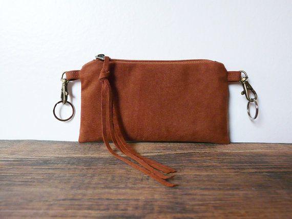 Végétalien ceinture marron rouille sac portable couvre par skbag