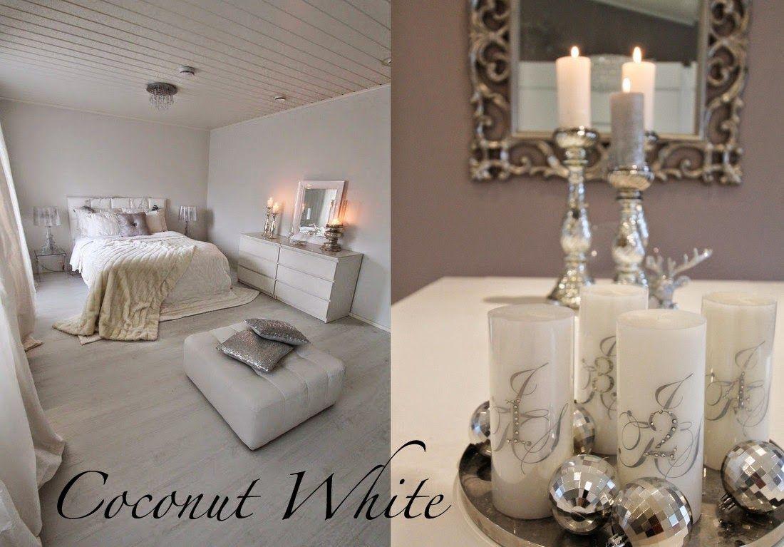 Coconut White blogista löytyy kauniita sisustuskuvia minun makuuni - just!
