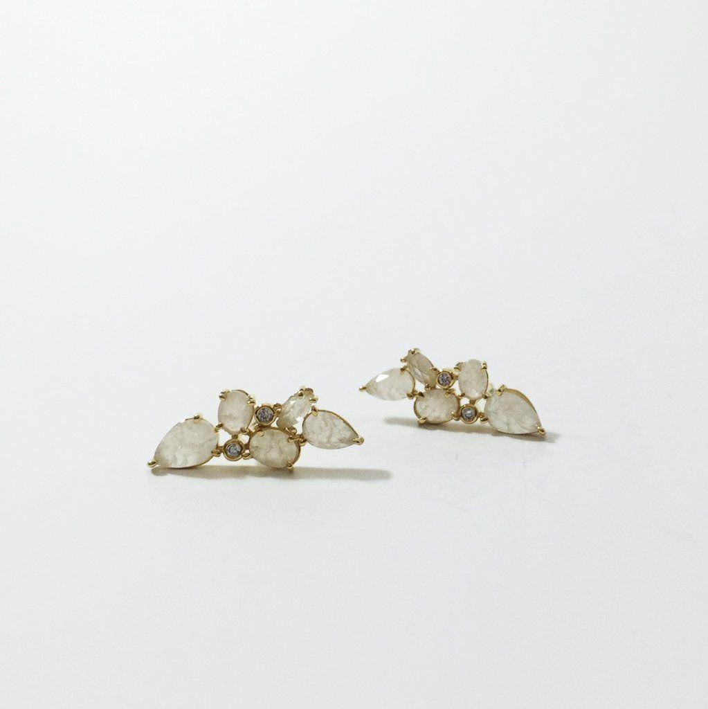 dae97d30f Mini Crystal Ear Climbers. Mini Crystal Ear Climbers - local eclectic - 1 Tai  Jewelry, Fine Jewelry, Diamond