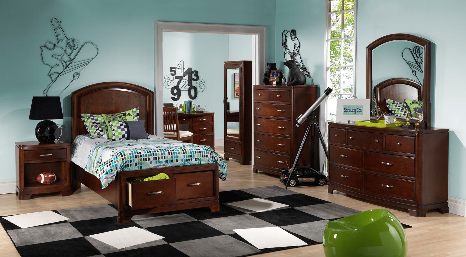 Best Justin Kids Furniture Collection Leon S Bedroom 400 x 300
