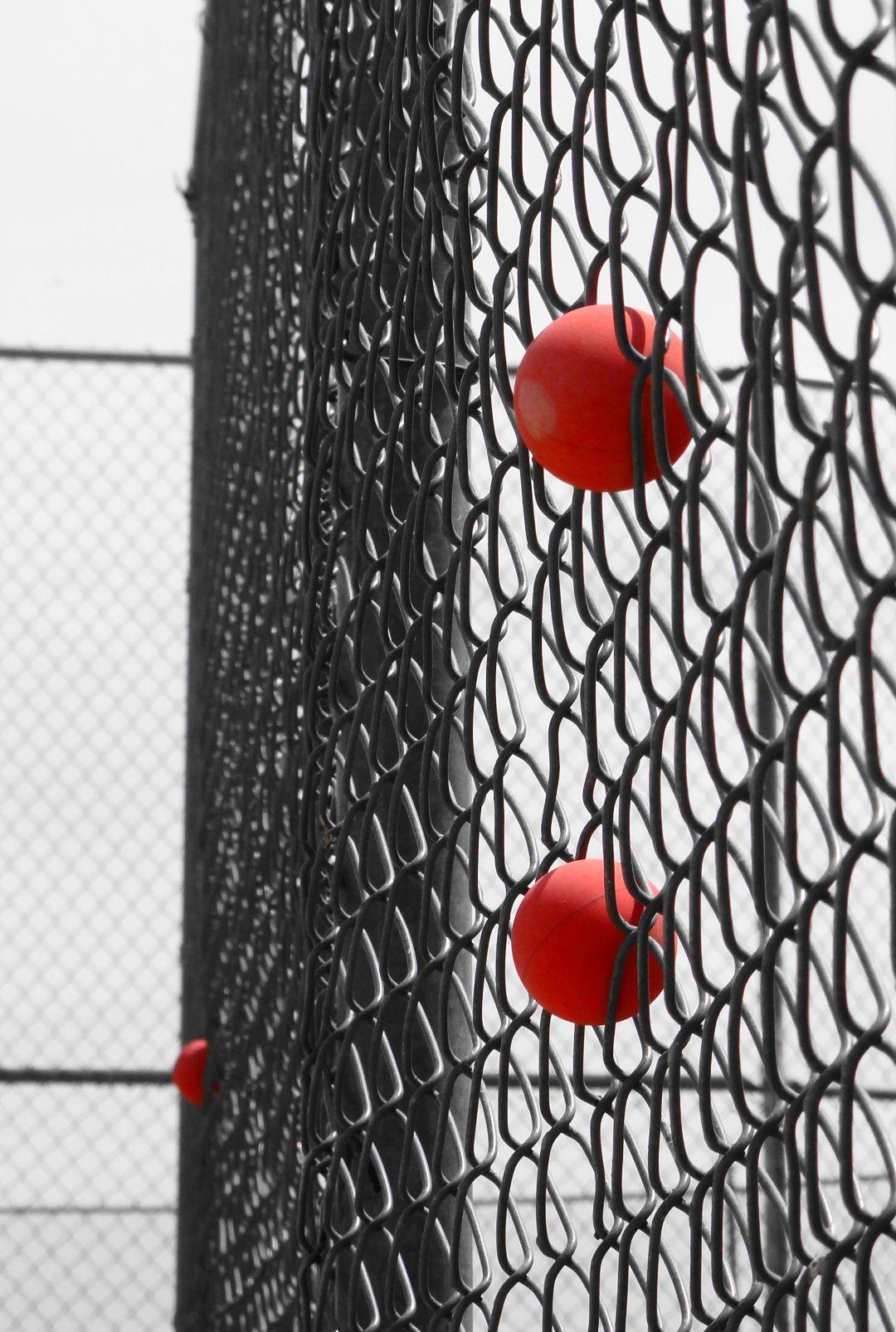 Ball catcher racquetball outdoor outdoor play
