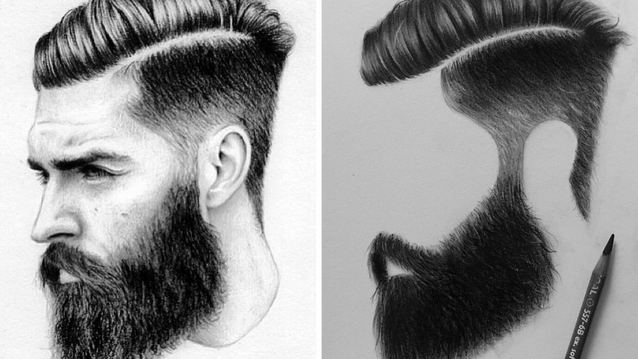 How To Draw Male Hair With Charcoal Pencils Time Lapse Video Realistic Hair Drawing Drawing Male Hair Guy Drawing