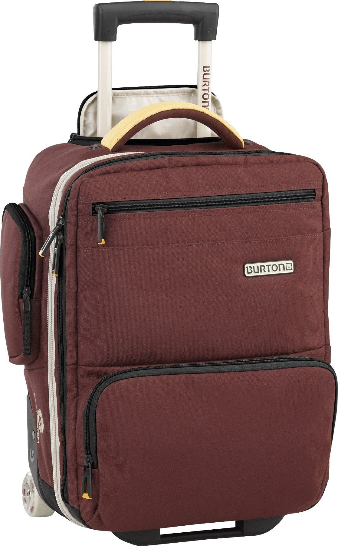 Burton Wheelie Flyer Travel Bag Crimson - http://www.downtown.nl/burton-wheelie-flight-deck-falcon-mocha-block-31699